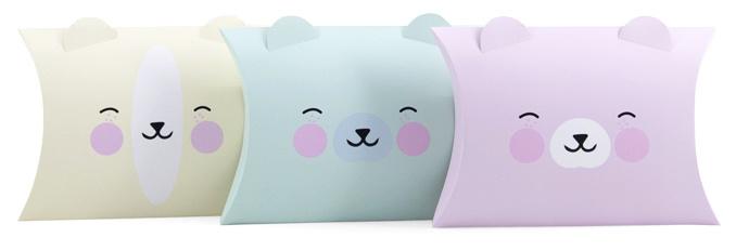 Kawaii Pillowbox - kies je kleur