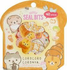 Aufkleberbeutel Corocoro Coronya Seal Bits