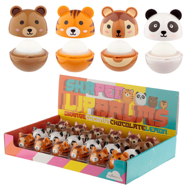 Lipbalm Kawaii Animal Bals