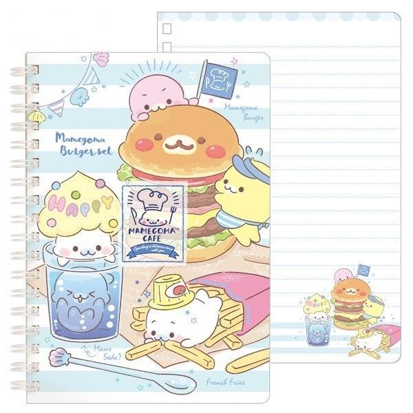 Notebook Mamegoma Café - Burger