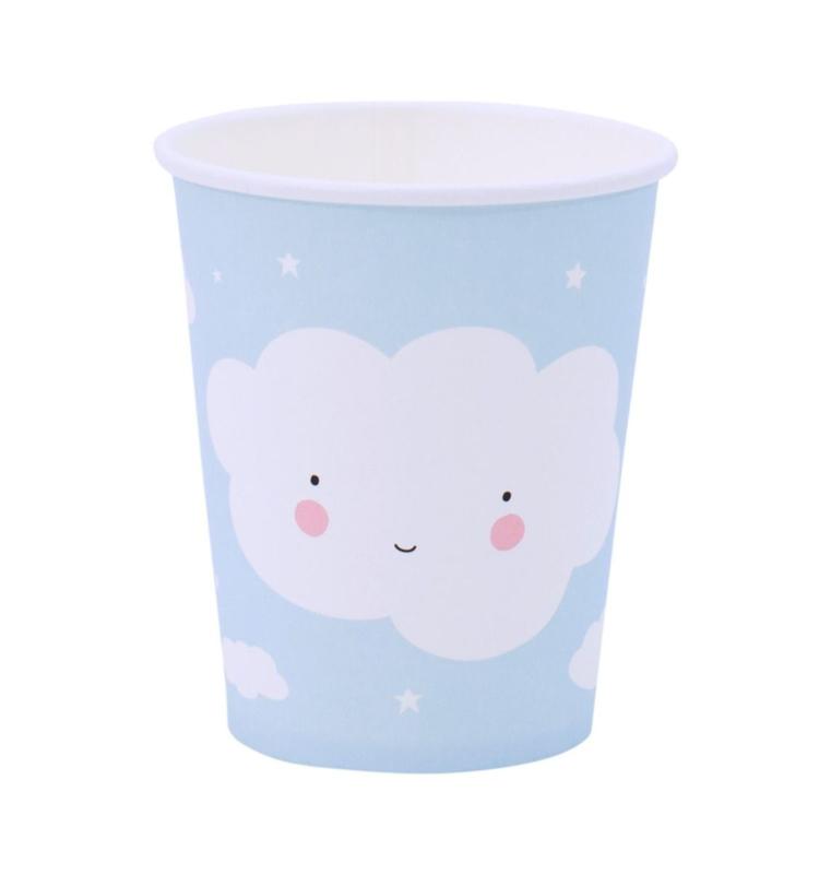 Paper cups - cloud