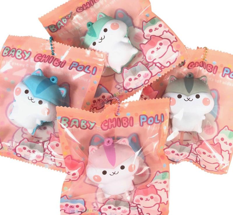 Squishy Baby Chibi Mini Poli