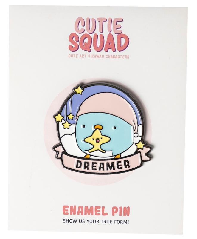 Cutiesquad Enamel Pin - Penguin Dreamer