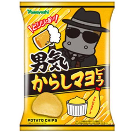 Otoko-gi Karashi Mayo-Beef potato chips