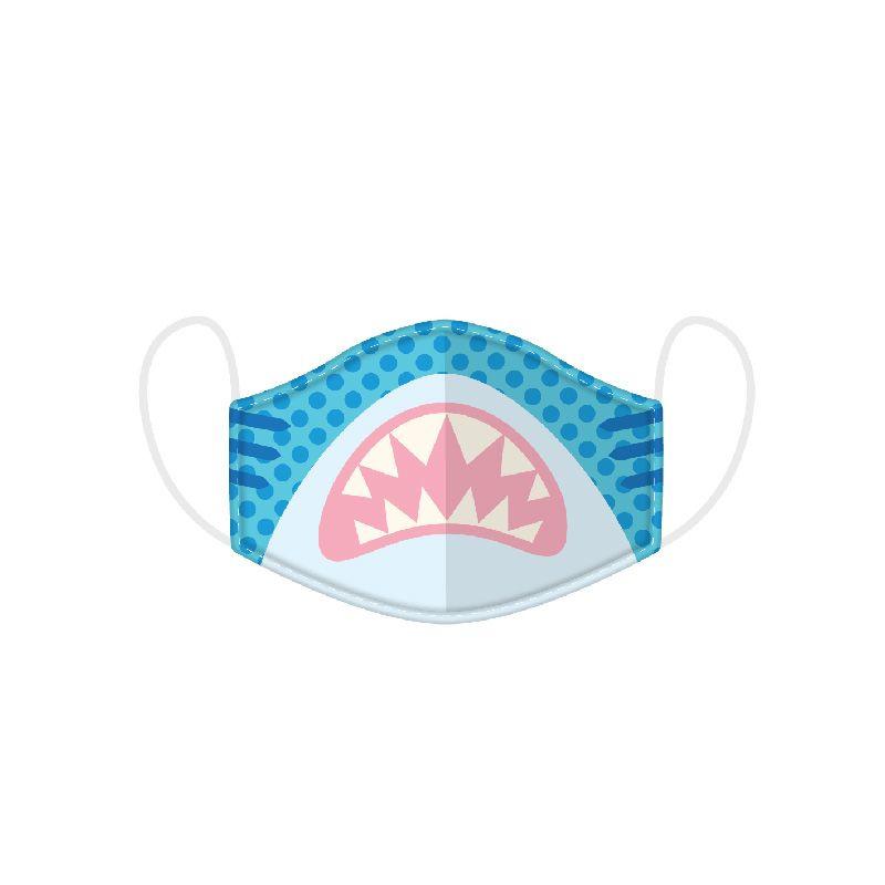KIDS Mund-Nasenmaske - Shark