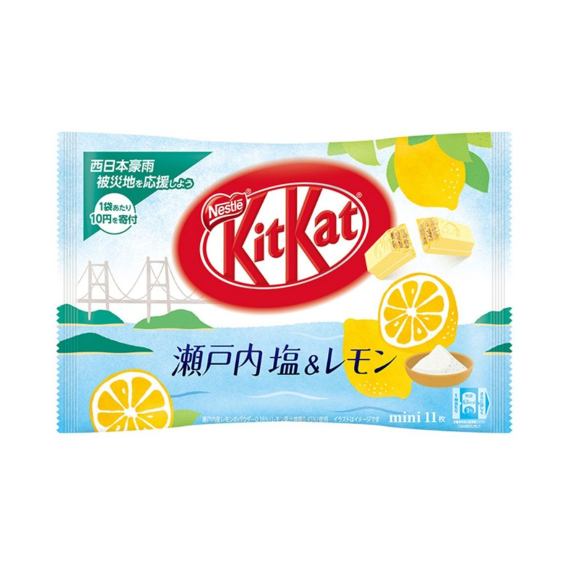 KitKat mini Setouchi - Salty Lemon - zak 11 stuks
