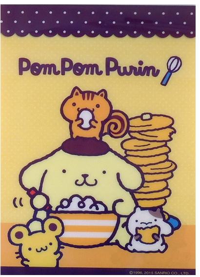 A5 Letterpad (Memo XL) Pom Pom Purin 48 sheets