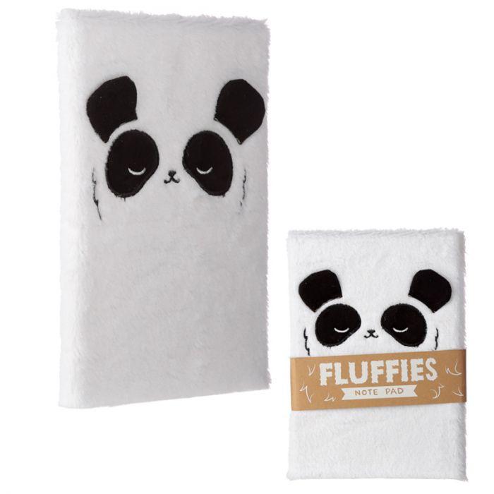 Notizbuch Fluffy Panda