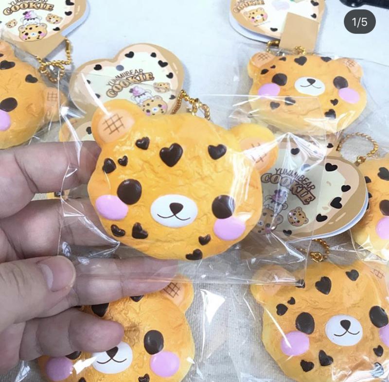 Squishy Yummiibear CreamiiCandy Cookie