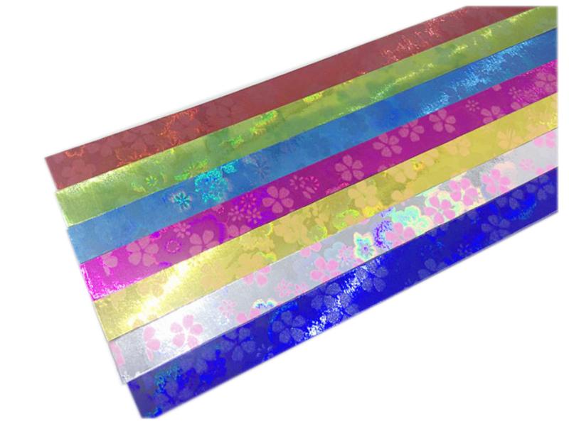 Lucky Star papier Holo Blumen - Überraschung - 3 Stücke