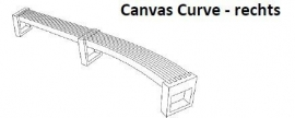 Canvas Curve - rechts/ links