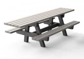 Kunststof Picknicktafel OSLO-G XL