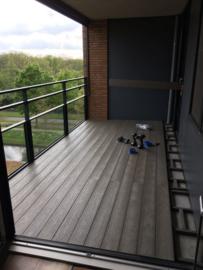 2 Projecten met Taupe ( met houtstructuur)