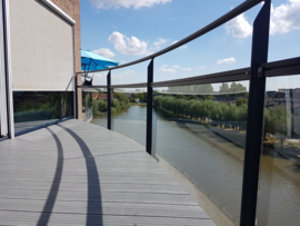 Balkon terras Linea Grijs