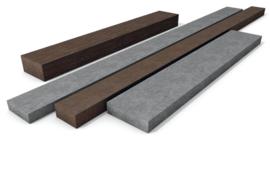 Planken en balken met rechte hoeken