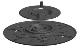 Terrasdrager PL17-23mm CP+ - verstelbaar 17-23mm voor balken