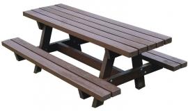 Kunststof Picknicktafel OSLO