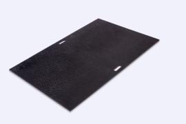 Kunststof rijplaat 1000 x 1500 x 15 mm