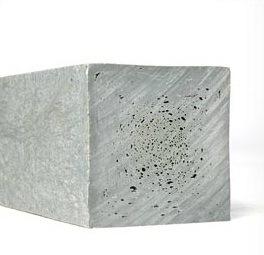 ECO-line paal 7x7x250cm op aanvraag (grijs)