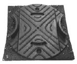 Vaste balkdrager RC 10-24 mm CP+