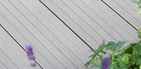 Kunststof terrasvloer