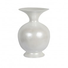 Vaas Belly,  white pearl,  ø37x53