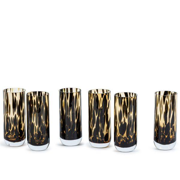 Vase spotted Ø 7 X 17,5 CM