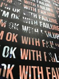 I'm ok with failure mantra 002
