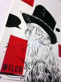 Wilco gigposter