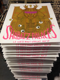 Shabazz Palaces screenprinted gigposter