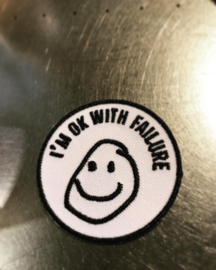 I'm ok with failure iron on patch