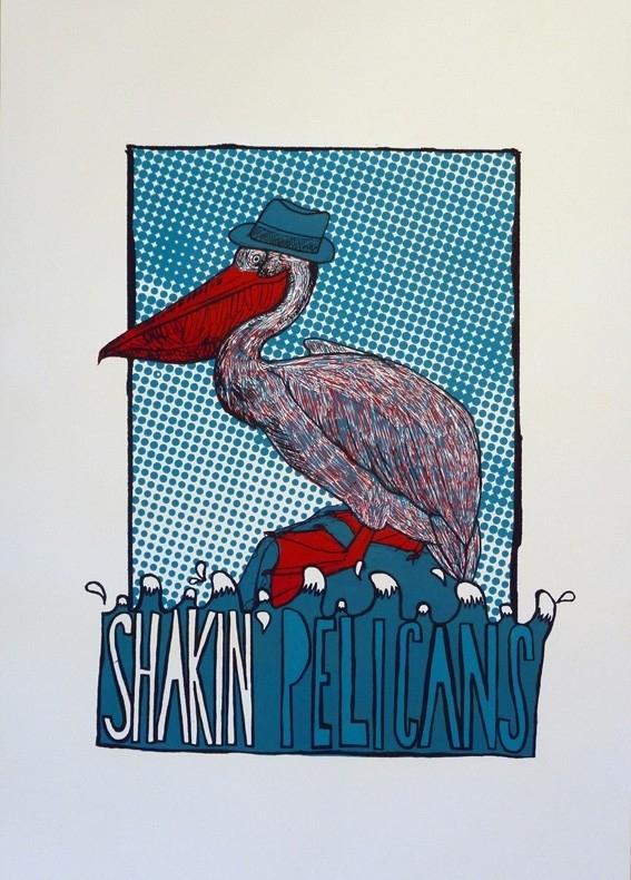 Shakin` Pelicans