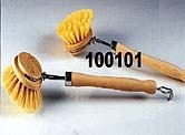 Afwasborstel hout vulling fiber