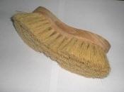 Tonborstel/zuivelborstel fiber