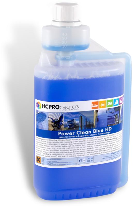 AAA-kwaliteit Power Clean Blue 1 ltr. fles
