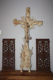 Brocante Gietijzer kruis