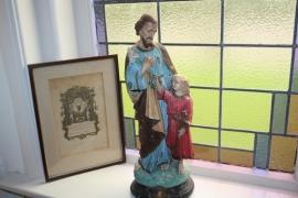 Sint Jozef met kindje Jezus