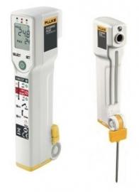 Fluke FoodPro Plus FP (-35°C tot 275°C) voedselveiligheidsthermometer incl. insteekprobe en voorzien van geldig certificaat!