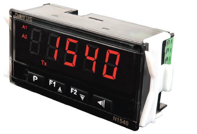 N1540 RS485 universeel display