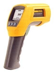 Fluke 566 (-40°C tot 650°C); type K -270°C tot 1372°C