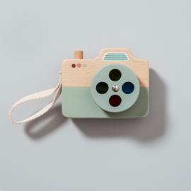 Petit Monkey - houten camera