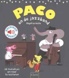 Geluidenboek PACO en de jazzband