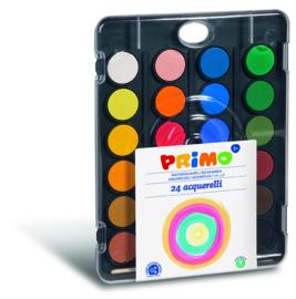 PRIMO - Waterverf doos met 24 kleuren