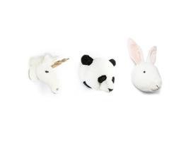 Wild&Soft lovely dierenhoofden giftbox