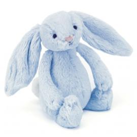 Jellycat Bashful konijn babyblauw