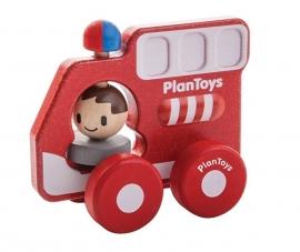 Rode brandweer auto
