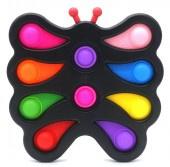 Pop it -  XXL Fidget Pad - Mixed Colors - vlinder