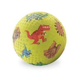 Crocodile Creek 13 cm Rubberen bal groen - Dinosaurus