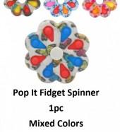Fidget Bloem spinner - print
