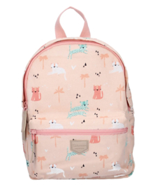 Kidzroom rugzak Peach Wild animal